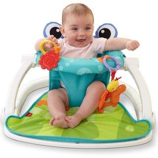 $26.49Fisher-Price Sit-Me-Up Floor Seat, Citrus Frog