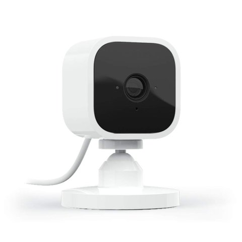 Blink Mini Compact Indoor Plug-in Smart Security Camera