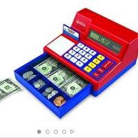 Learning Resources 儿童计算机收银机玩具 带纸币
