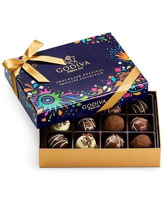 巧克力松露冬季礼盒 12颗
