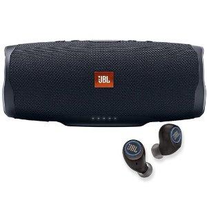 低至$31.99翻新 JBL 音频产品大促销 Charge 4 & FreeX 打包$109.99