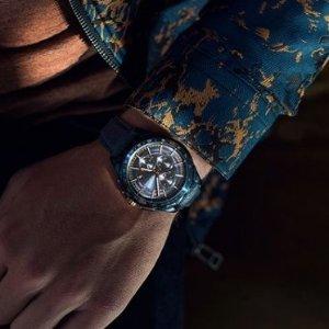 8折优惠Versace, Ferragamo,Maserati等精选男士时尚腕表限时特卖