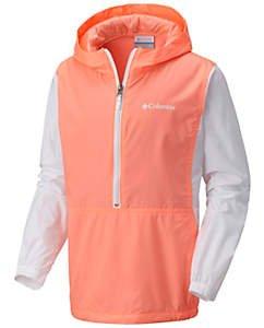 低至4折 + 免运费Columbia 精选儿童户外服饰促销,防风外套$19.99