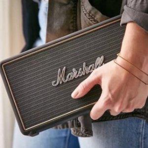 超值价¥900Marshall Stockwell 复古无线蓝牙音箱