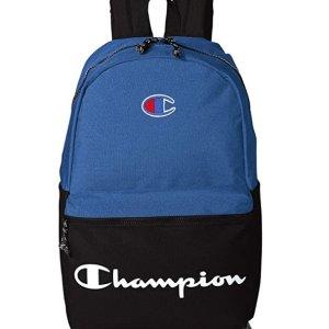 Amazon官网 Champion双肩背包促销 蓝、灰两色都参加