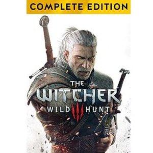 $15(原价$49.99)《巫师3 狂猎 完整版》Xbox One 数字版