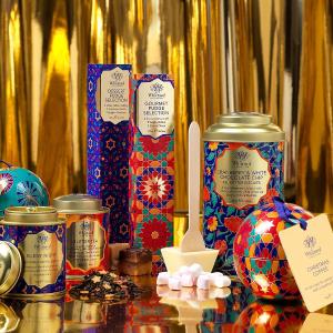 第14天 订单满£70 送价值£21礼盒Whittard 英国高端茶叶咖啡品牌圣诞倒数 每日优惠大不同