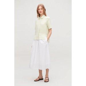 COS丝质衬衫