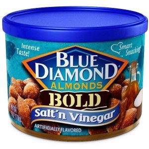 $18.29Blue Diamond Almonds, Bold Salt & Vinegar, 6 Ounce (Pack of 12)