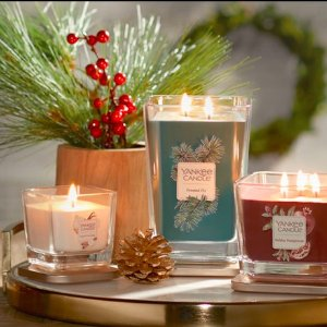 $10 Off Orders of $50+Sitewide Sale @ Yankee Candle