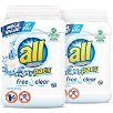 Amazon.com: all Mighty Pacs Laundry Detergent, Free Clear for Sensitive Skin, 67 Count, 2 Tubs, 134 Total Loads: Health & Personal Care