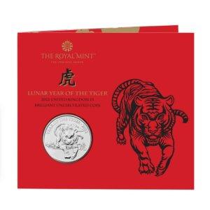 """£13起收藏 限量版 欲购从速上新:The Royal Mint 2022年""""虎年生肖""""纪念币上市"""