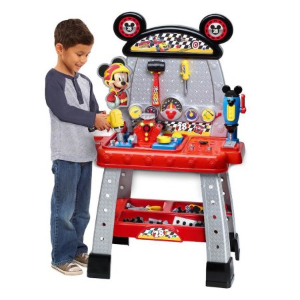 $28Disney Junior Mickey and the Roadster Racers Pit Crew Workbench