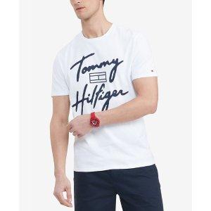 TOMMY JEANSlogo T恤
