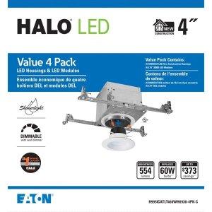 Halo Halo 白色集成式LED新型隐蔽式照明套装