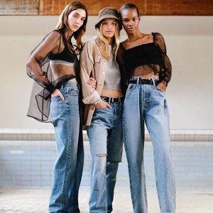 低至3折+免邮 $20起Nordstrom 女士时髦牛仔裤热卖,Frame、Rag Bone都有