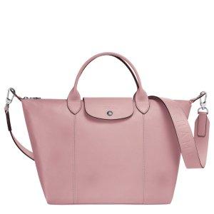 LongchampLe Pliage Cuir Top handle bag M