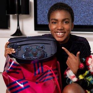 75折 £101虎头腰包抱回家Kenzo 包包服饰配饰大热卖 速收虎头、眼睛系列