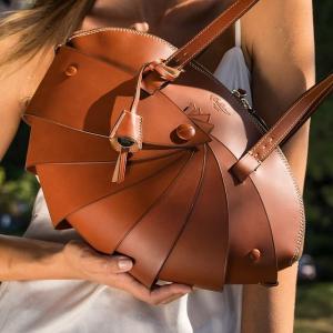 8折起!£255就收贝壳包Mirta 贝壳包包专场 意大利手工皮具 设计感满满