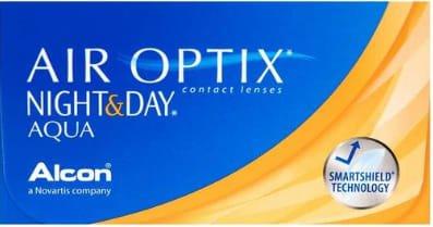 Air Optix Night & Day Aqua 月抛6片