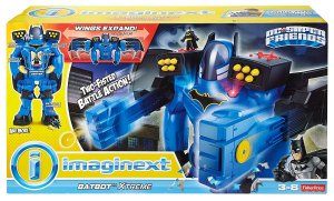 $48Fisher-Price Imaginext DC Super Friends Batbot Xtreme