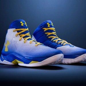 史低价 $39.99白菜价:Under Armour Curry 2.5 男士篮球鞋断码热卖
