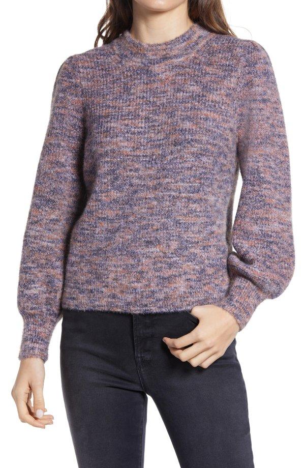 Eaton Space泡泡袖毛衣