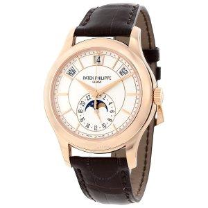 Extra $100 OffPATEK PHILIPPE Annual Calendar Opaline Men's Watch 5205R-001