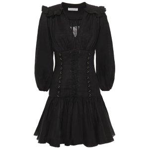ZimmermannRuffled l蕾丝连衣裙