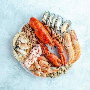 低至8折!满£50减£5The Fish Society 秋季海鲜大促 龙虾、三文鱼 自制海鲜火锅