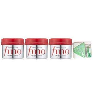 3罐直邮美国到手价$37日亚黑五限时抢购 资生堂 Fino 滋养修护发膜 230g×3罐