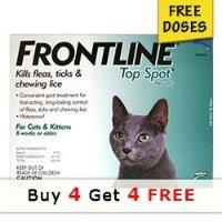 Frontline 猫咪体外驱虫剂 4剂