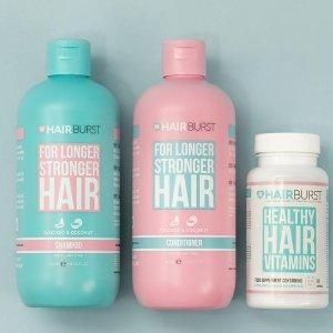 低至7折Hairburst 防脱护法产品热卖 Pony女神力推 亲测有效