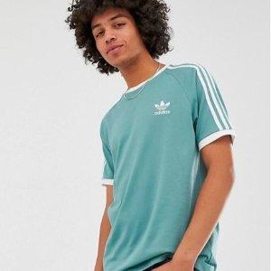 现价约¥204 男女可配情侣adidas Originals 三叶草薄荷绿色短袖