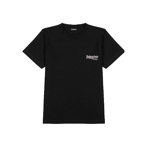Black logoT恤