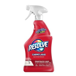Resolve - 601 Carpet Triple Oxi Advanced Carpet Stain Remover, 22 Ounce Light Yellow