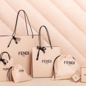 低至7.2折 €329收卡包限今天:Fendi 经典美包热促 收复古法棍包、水桶包 敲可爱小怪兽系列