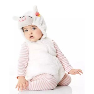 Carter's婴儿羊驼装扮服