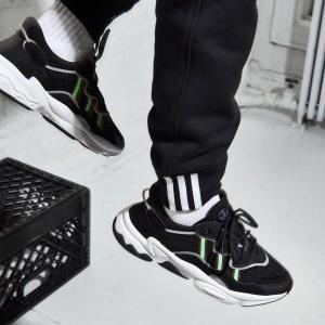 $110 包邮 多色可选adidas OZWEEGO系列运动鞋热卖 四字弟弟同款