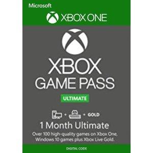 1个月 Xbox Game 超级会员