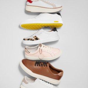 一律7.5折 气垫底牛津鞋$240Cole Haan官网 父亲节闪促 可以穿着跑步的皮鞋