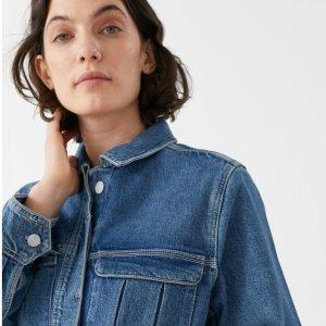 新人9折 新款牛仔夹克£76上新:& Other Stories 早春新款大衣、夹克上线 好看又好穿 气质淑女必备