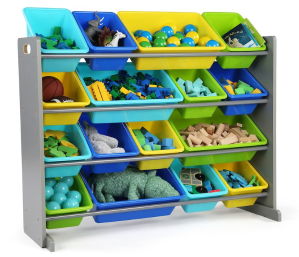 $44 Tot Tutors Discover Super-Sized Toy Storage Organizer - Walnut/ Espresso