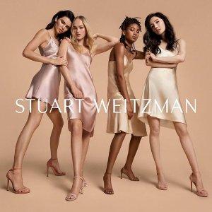 低至25折+首单85折 £88收麂皮穆勒鞋Stuart Weitzman 春夏美鞋超低价热卖 人气一字带凉鞋、裸靴都有