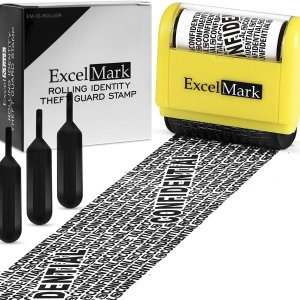 ExcelMark Rolling Identity Theft Guard Stamp