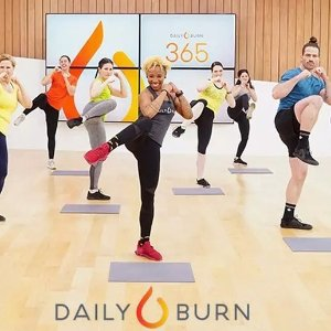 £0体验60天免费课程 不要钱!Daily Burn 燃脂暴瘦健身操免费学 每日一练瘦成闪电