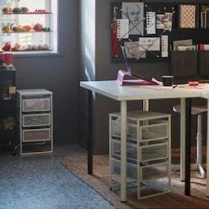 INS爆红的装饰王 格调秒升IKEA 新款折扣 LENNART 3层收纳只要€9.99