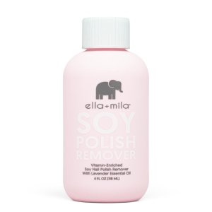 ella+mila Soy Nail Polish Remover | With Lavender Essential Oil