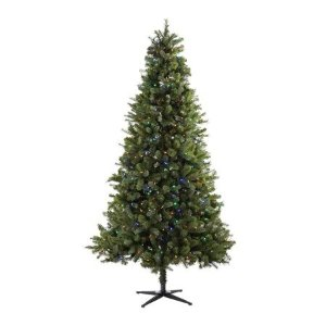 Coming Soon:  7.5ft Pre-Lit Norwich Spruce Christmas Tree with 350 Color Changing Lights - Green