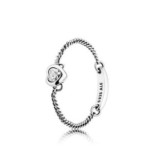 PandoraExtra 20% off When You Buy 2Spirited Heart Ring, Clear CZ|PANDORA Jewelry US